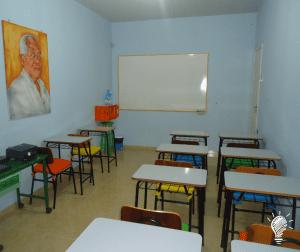 Espaço na sede da editora para o projeto social 'Escola da Leitura José Luiz de Oliveira'