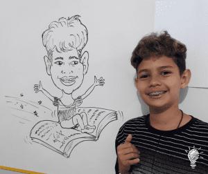 Rafael e sua caricatura