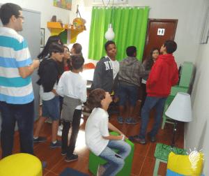 Sala de editoração/projetos