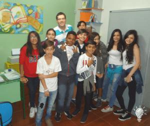 Todo mundo na administração, a sala do Marcelo Wutke Nogueira