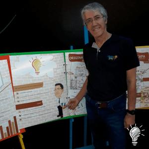 """Marcio Marinho Nogueira: """"ao vivo"""" e em versão caricatura"""