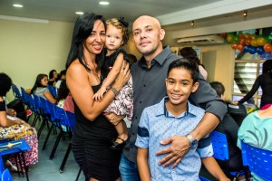 Gustavo e sua família