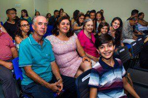 Roberto e sua família