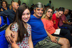 Júlia e sua família