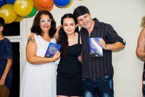 Regina Vilarinhos, Ana Laura e Clóvis Lima