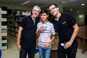 Marcio, Alex e Marcelo