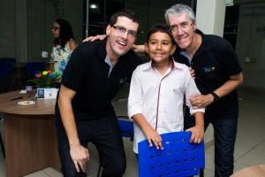 Marcelo, Matheus Matos e Marcio