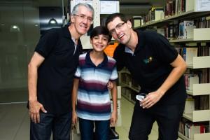 Marcio, Roberto e Marcelo