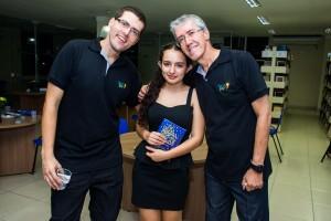 Marcelo, Ana Laura e Marcio